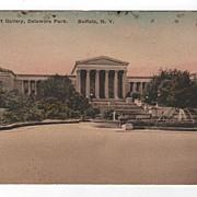 Albright Art Gallery, Delaware Park, Buffalo, New York Postcard
