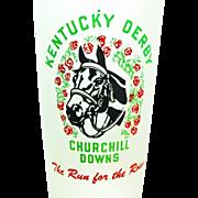 1953 Kentucky Derby Run For The Roses Mint Julep Glass