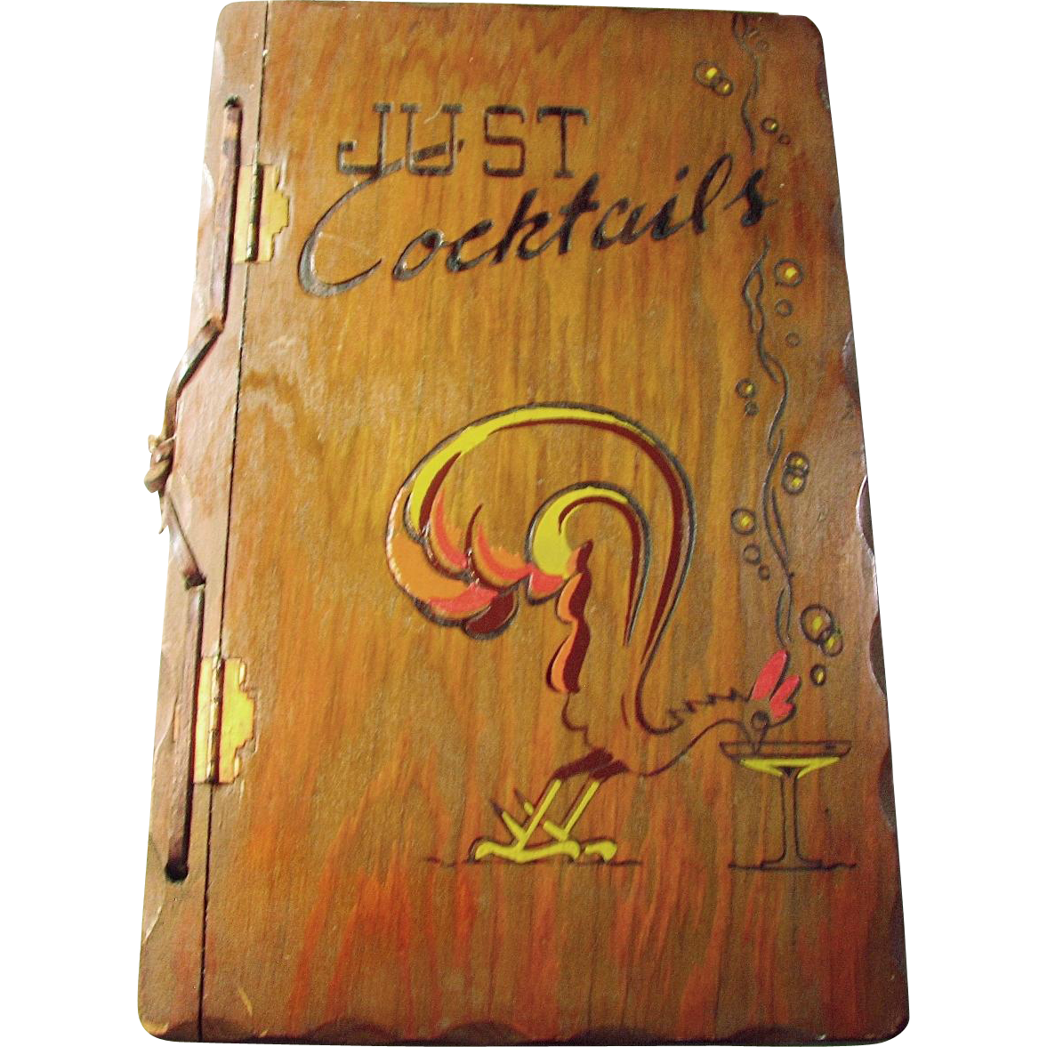 1939 First Edition Just Cocktails By The Three Mountaineers Inc