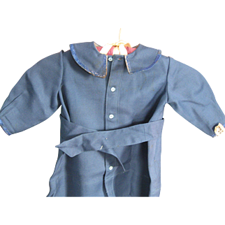 Vintage Child's Blue Wool Coat, Lancaster county, PA