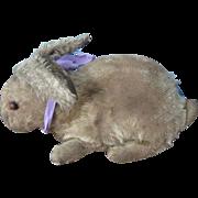 Antique Steiff Mohair Rabbit, Early & Loved