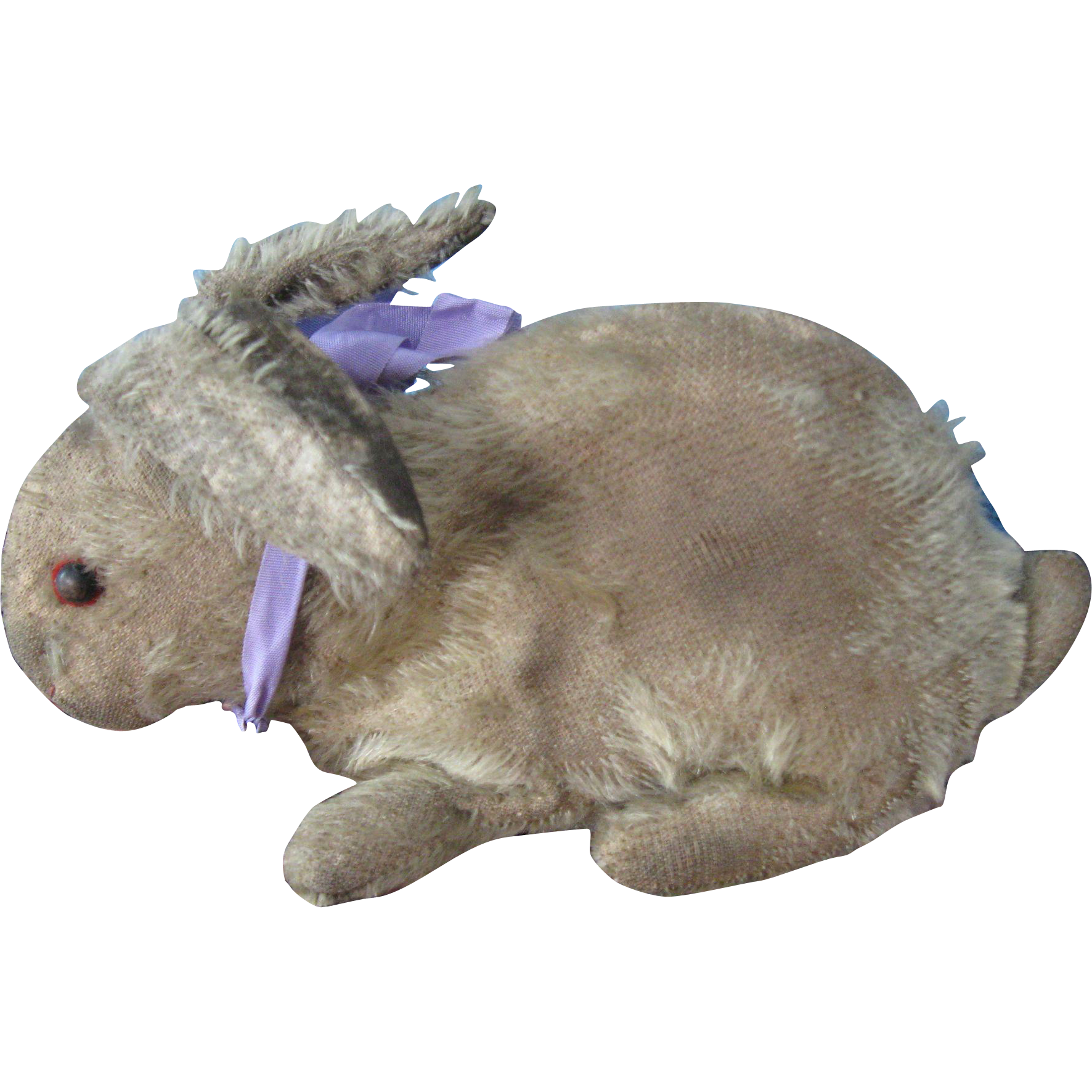 Antique Steiff Mohair Rabbit, Early & Loved