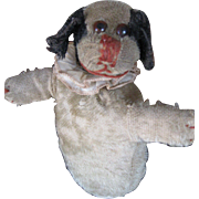 Early Roly Mohair Dog Make-Do Stuffed Animal