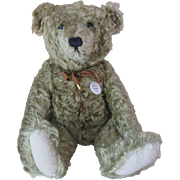 "Antique Replica, LE 2001 Steiff Hot Water Bottle Bear, 20"" Center Seam"