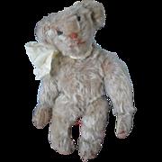 "Antique American  9"" White Mohair Bear"