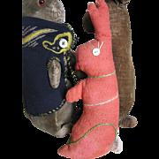 Vintage Stuffed Bunny Rabbit, PA Folk Art