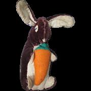 Vintage Stuffed Folk Art  Bunny Rabbit, Pennsylvania