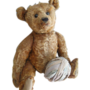 "Antique Cinnamon Steiff 16"" Bear"