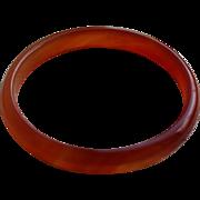 Vintage Carnelian Bangle Bracelet