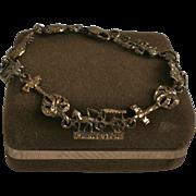 Vintage Charleston South Carolina Sterling Silver Bracelet