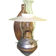 Antique Caboose Wall Lamp
