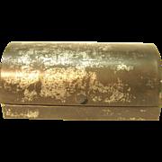 Old Tin Dome Top Box