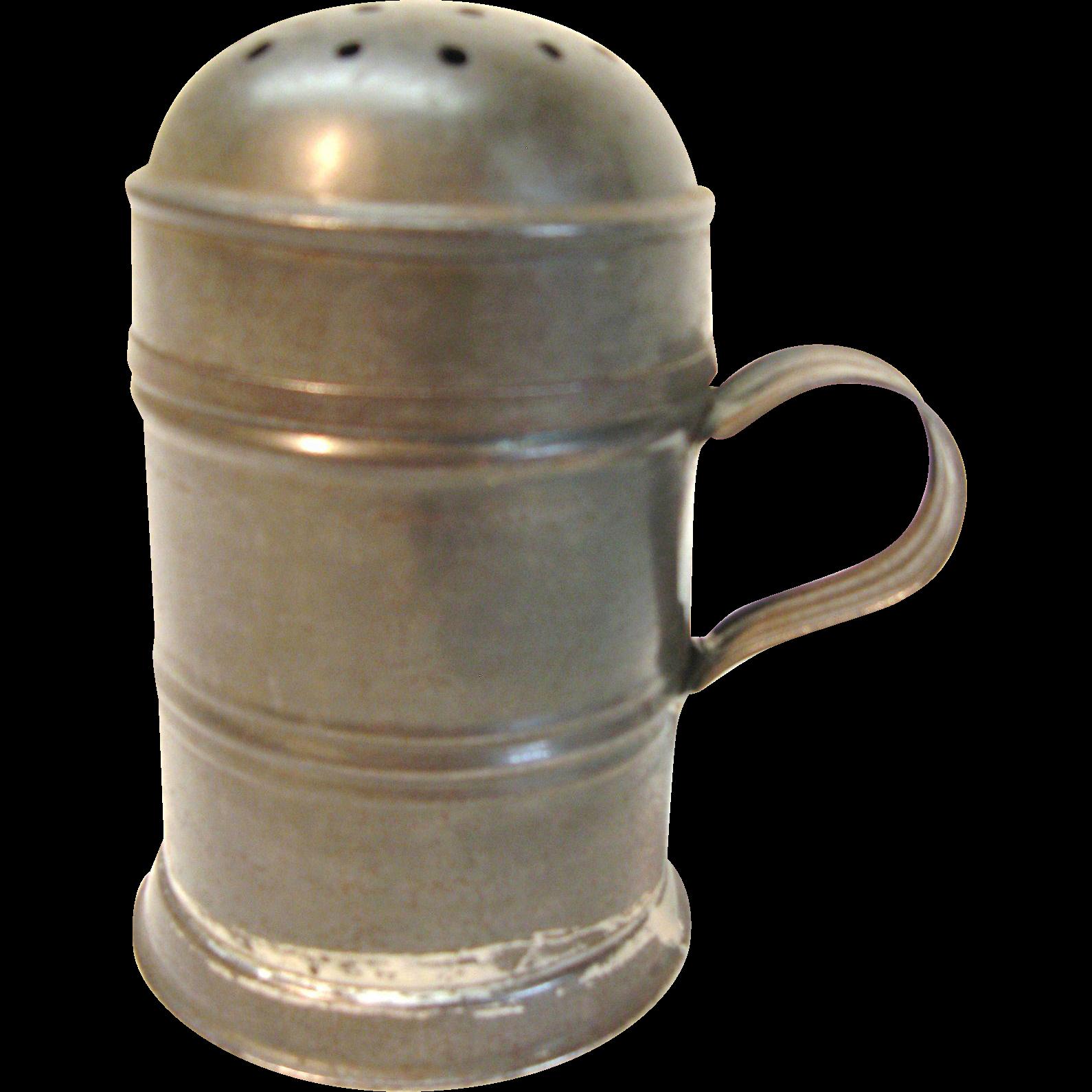 Very Nice Tin Sugar Shaker
