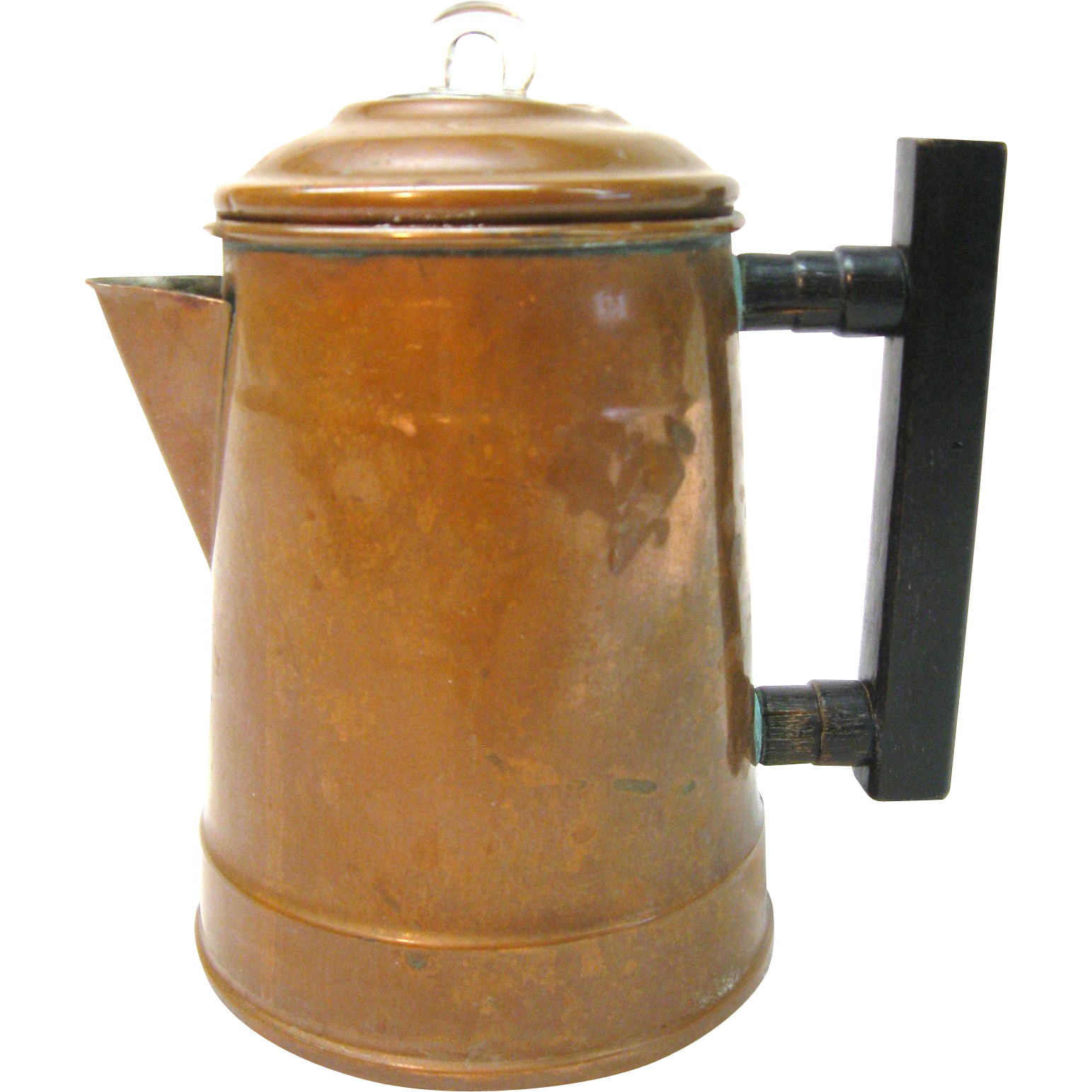 Cute Little Copper Four Cup Coffee Pot