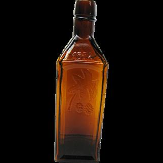 Beautiful Hop Bitters Bottle 1872