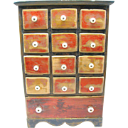 Outstanding Spice/Apothecary Chest