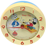 Vintage 50's Disney Time Clock