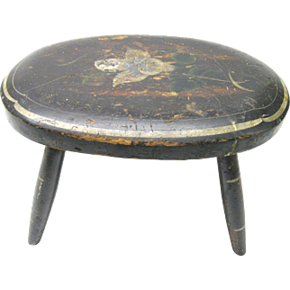 Wonderful Antique Country Stool