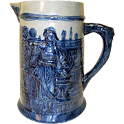 Beautiful Flemish Pitcher / Jug
