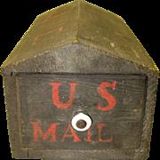 Folk Art Mail Box