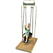 "Old Gibbs ""Girl On The Swing"" Toy"