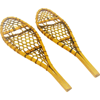 Salesman Sample Snowshoes