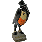 Wonderful Old Crow Whiskey Figure