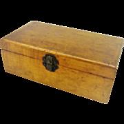 Vintage Wooden Soap Box