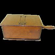 Vintage Voting Ballot Box