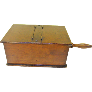 Vintage Voting Ballot Box