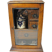 Antique Oak Tea Cabinet