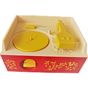 Vintage 1971 Fisher-Price Record Player