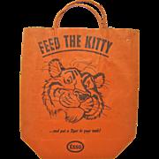 Vintage 1950'S ESSO Trick or Treat Bag