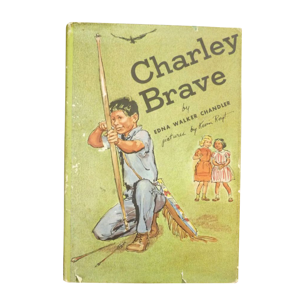 American Indian Charley Brave Book Edna Chandler