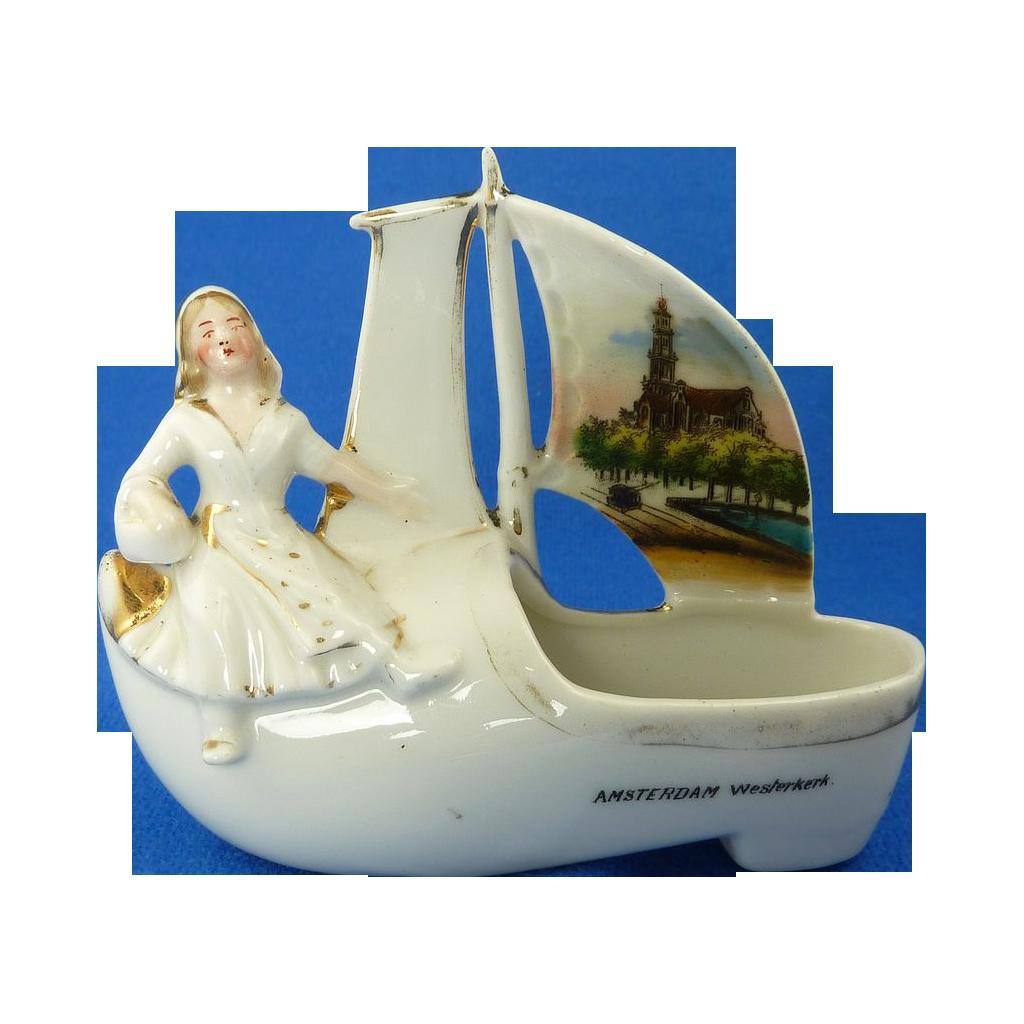 Amsterdam Westerkerk Sailing Boat Slipper Shoe