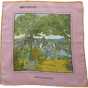 Switzerland Town of Bern Handkerchief Hankie