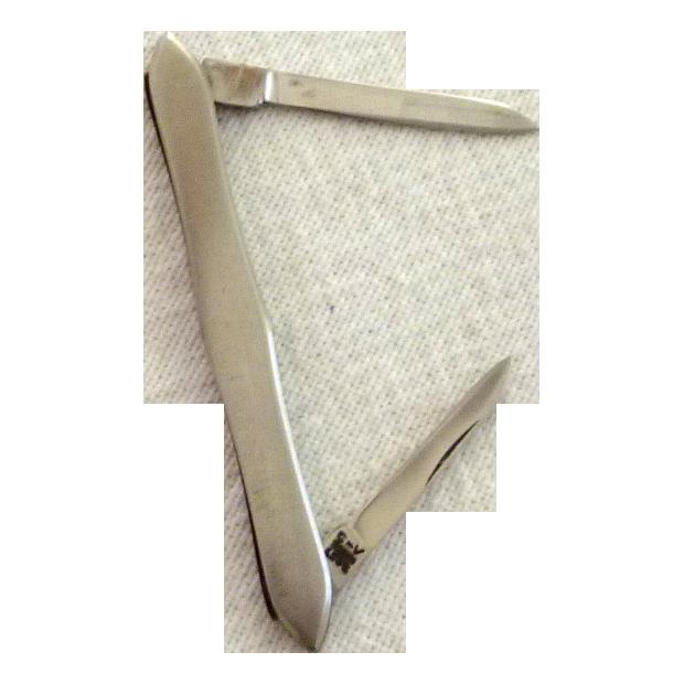 Vintage 2 Blade Pocket Knife