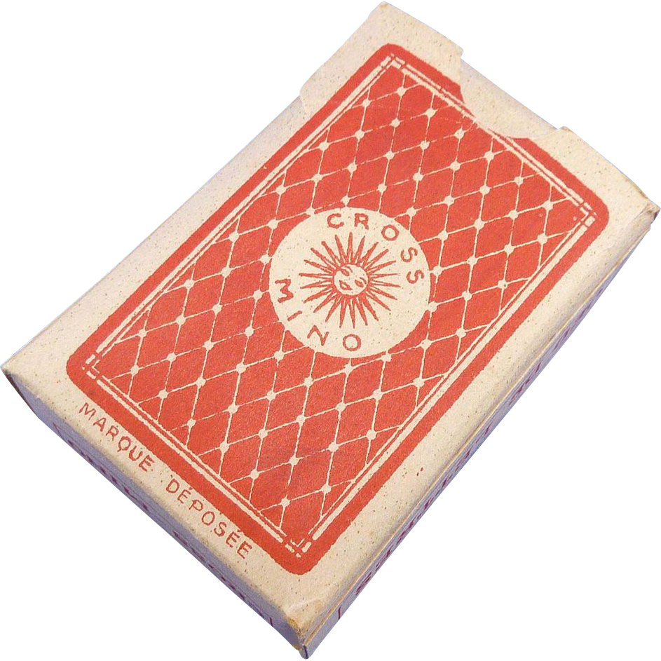 Mini Small Cross-Mino French Card Game