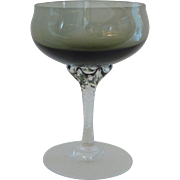 Coronation Smoke Sasaki Crystal Liquor Cocktail Glass