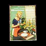 Hostess Set Booklet Coats & Clark 1956