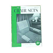 Chair Sets Clark Needlecraft Booklet