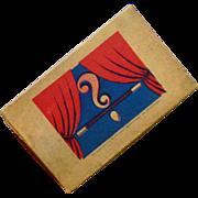 Box of Magic Tricks German Made in 1930's