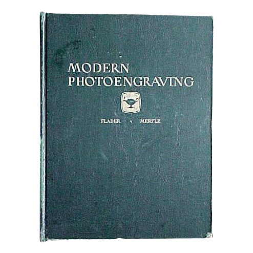 """Modern Photoengraving""  1948 Book"
