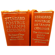 Set  of 1960 Standard Postage Stamp Catalogue Books