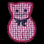 Kitty Cat Kitten Magnet Hot Pad Holder