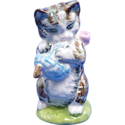 "Beatrix Potter ""Miss Moppet"" Kitten Cat Beswick Figurine"