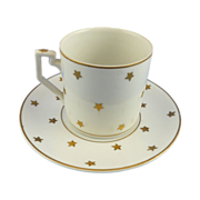 Erphila Star Demitasse Coffee Cup and Saucer