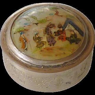 Persian Minitre Trinket Box with Lid