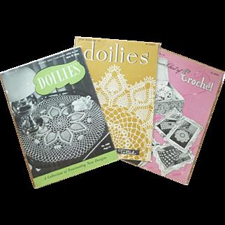 Crocheted Doilies, Bedspreads & Novelties Booklets