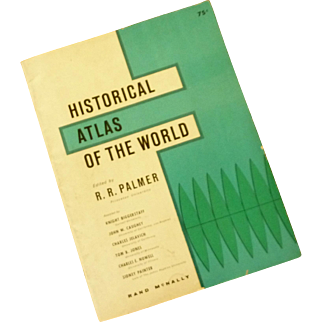 Historical Atlas of the World Soft Cover Book
